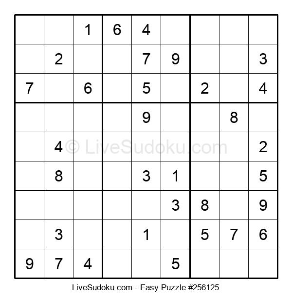 Beginners Puzzle #256125