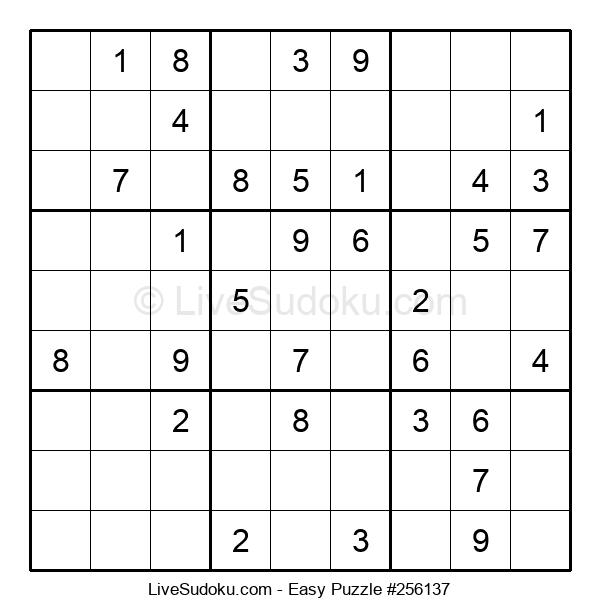 Beginners Puzzle #256137