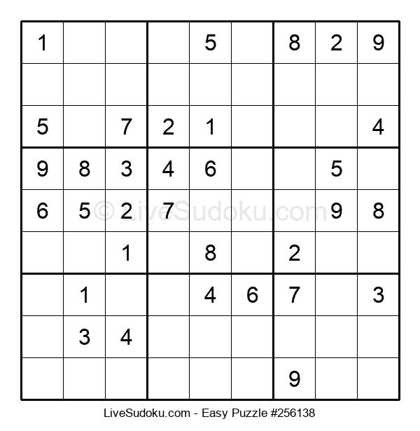 Beginners Puzzle #256138