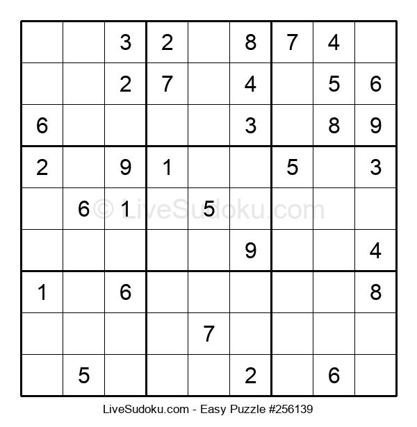 Beginners Puzzle #256139