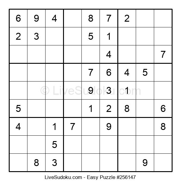 Beginners Puzzle #256147