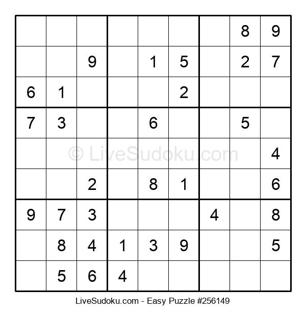 Beginners Puzzle #256149