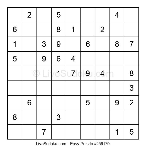 Beginners Puzzle #256179