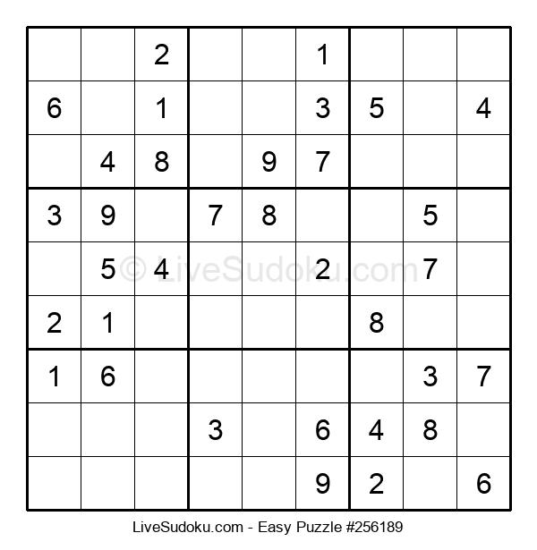 Beginners Puzzle #256189