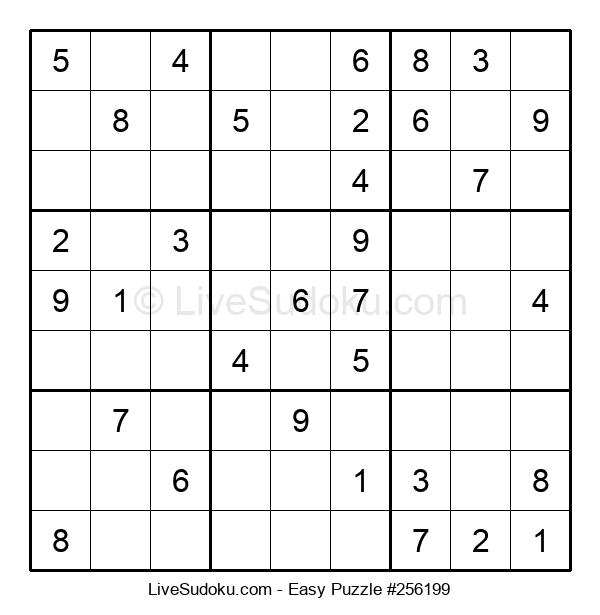 Beginners Puzzle #256199