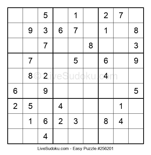 Beginners Puzzle #256201