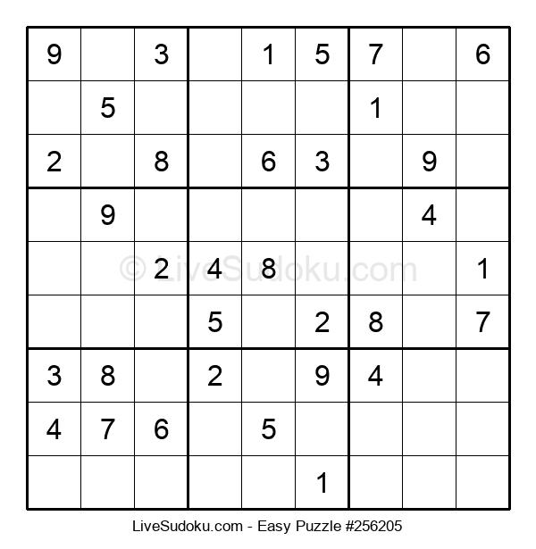 Beginners Puzzle #256205