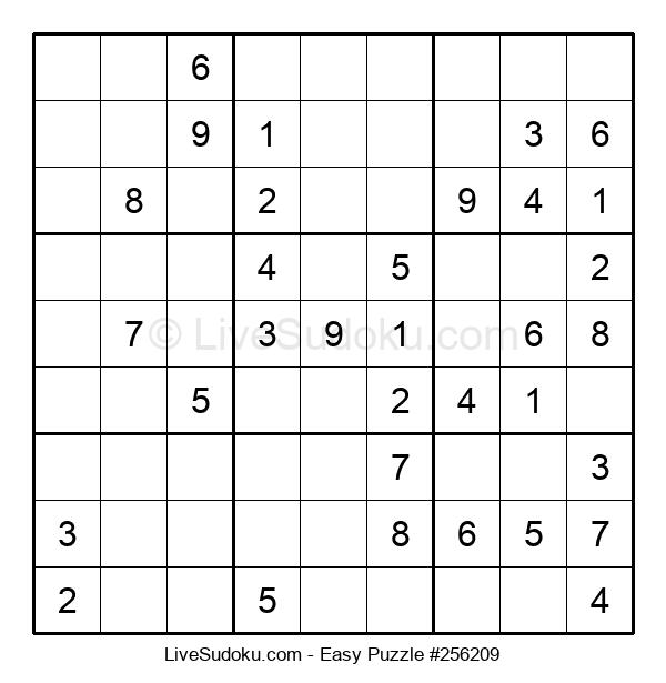 Beginners Puzzle #256209
