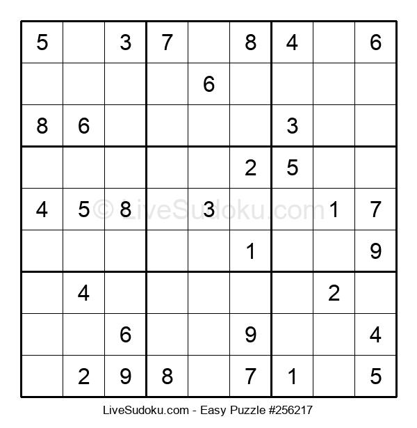 Beginners Puzzle #256217
