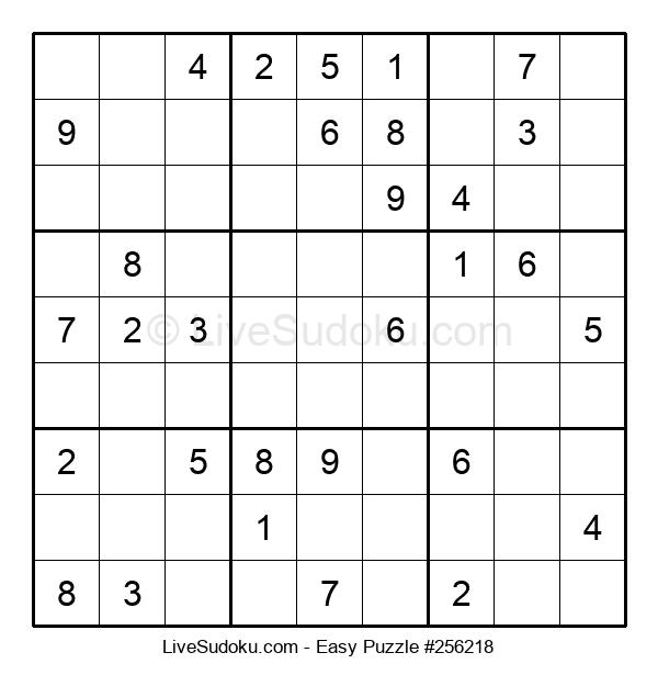 Beginners Puzzle #256218