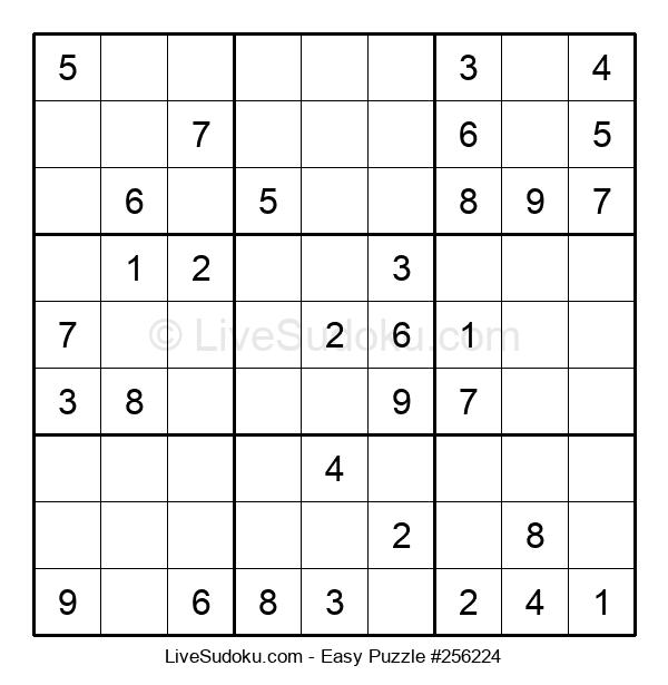 Beginners Puzzle #256224