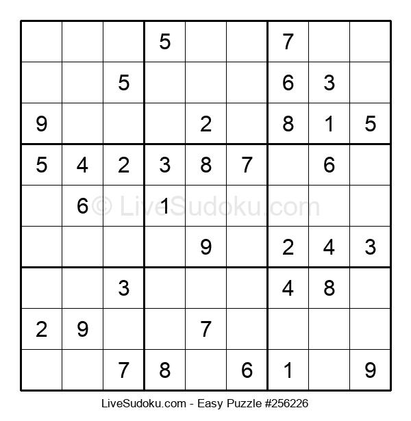 Beginners Puzzle #256226