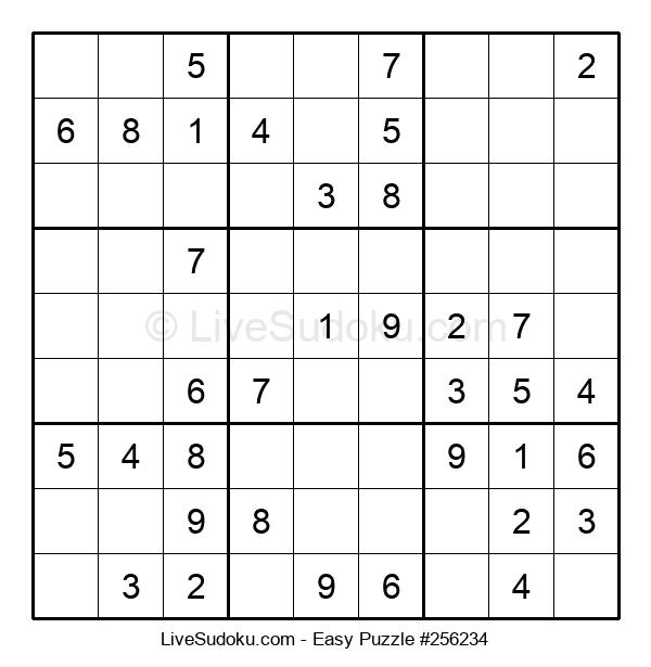 Beginners Puzzle #256234