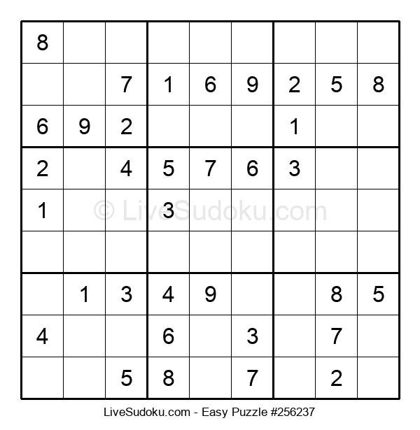 Beginners Puzzle #256237