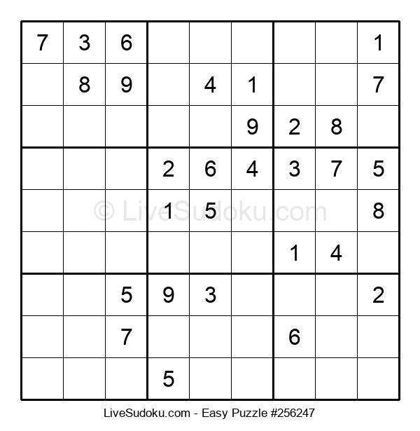Beginners Puzzle #256247