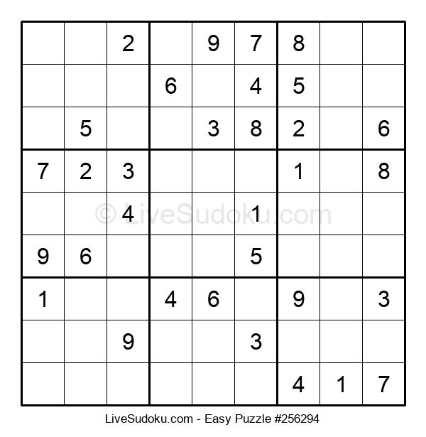 Beginners Puzzle #256294