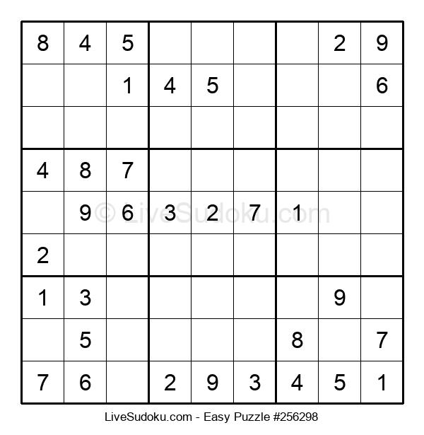 Beginners Puzzle #256298