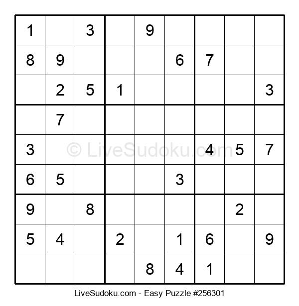 Beginners Puzzle #256301