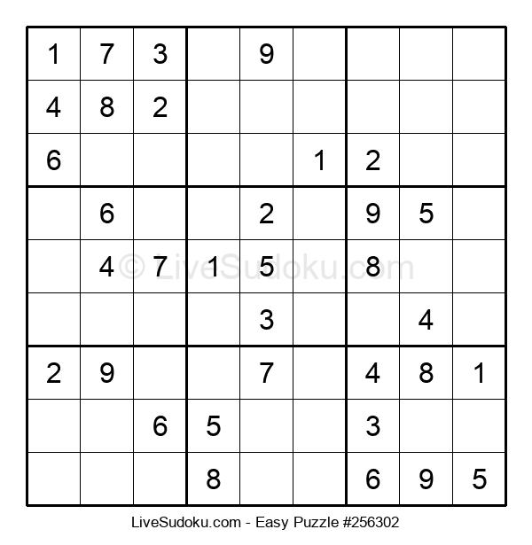 Beginners Puzzle #256302