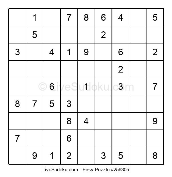 Beginners Puzzle #256305