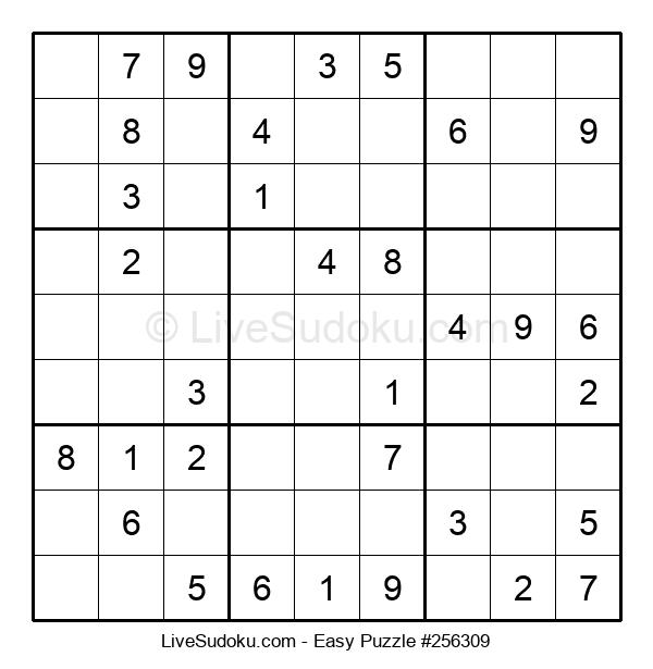 Beginners Puzzle #256309