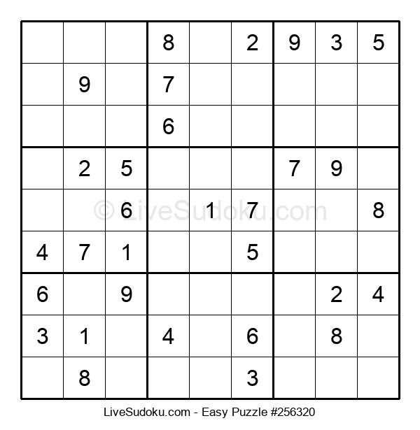 Beginners Puzzle #256320
