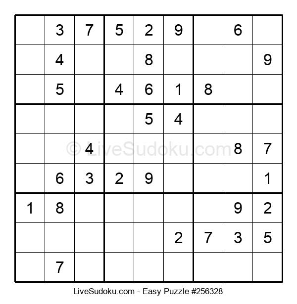 Beginners Puzzle #256328