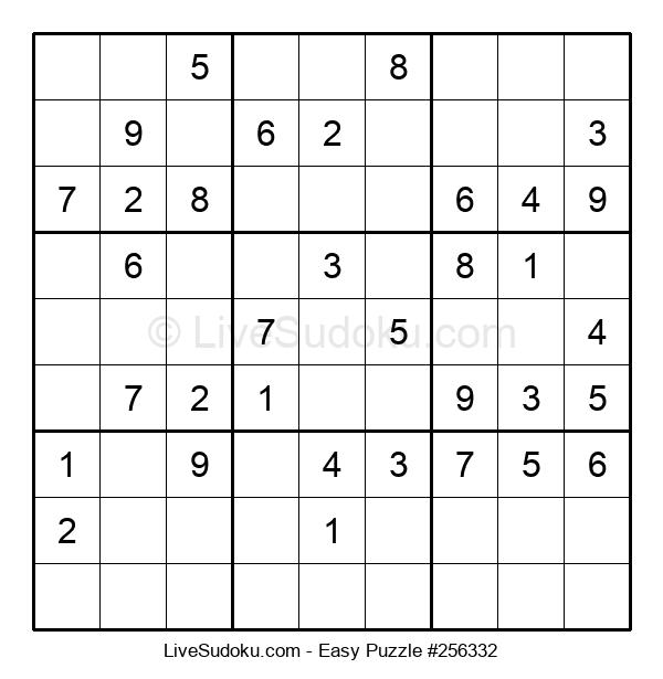 Beginners Puzzle #256332