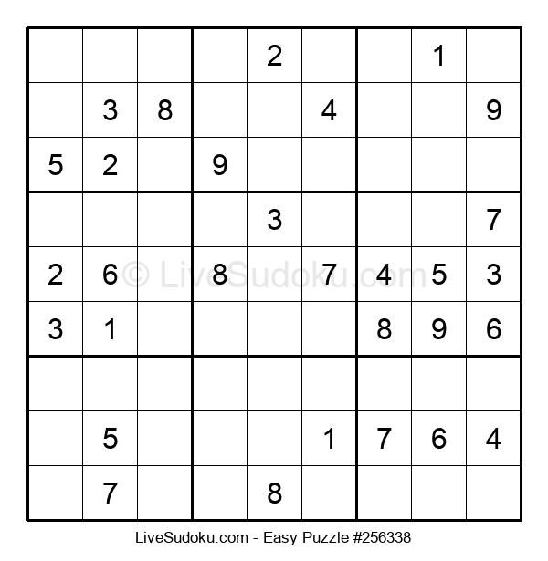 Beginners Puzzle #256338