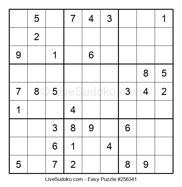 Beginners Puzzle #256341