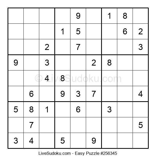 Beginners Puzzle #256345