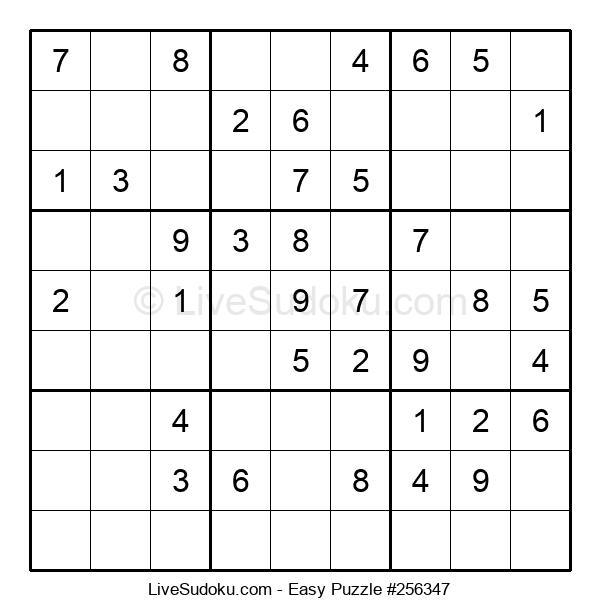 Beginners Puzzle #256347
