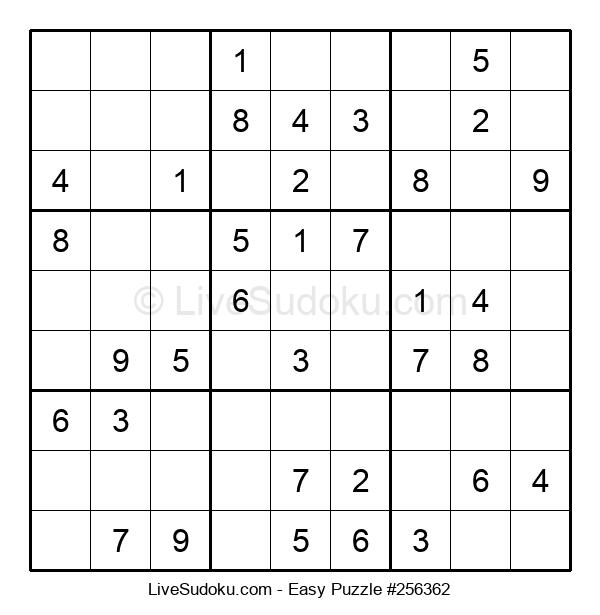 Beginners Puzzle #256362