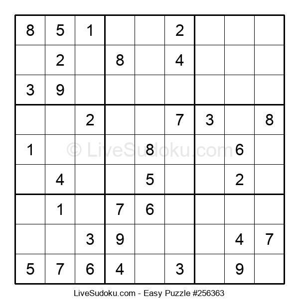 Beginners Puzzle #256363