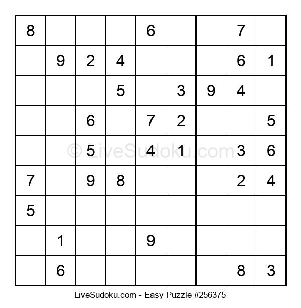 Beginners Puzzle #256375
