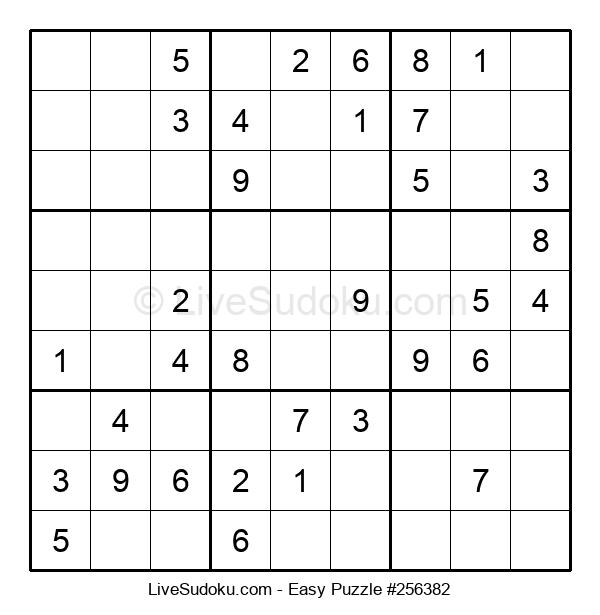 Beginners Puzzle #256382