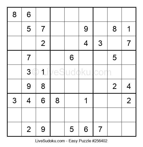 Beginners Puzzle #256402