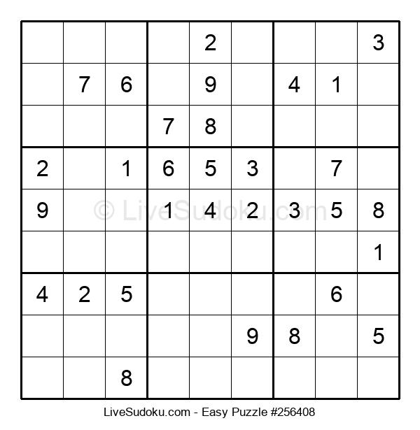Beginners Puzzle #256408