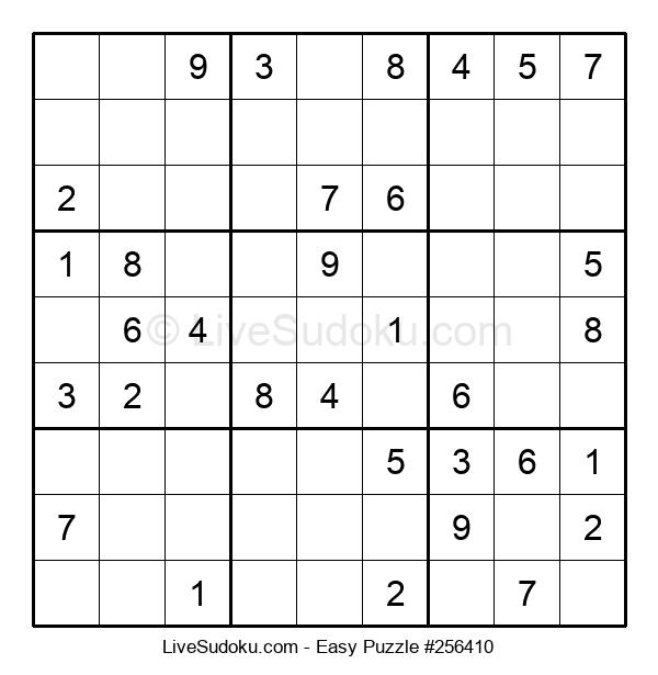 Beginners Puzzle #256410
