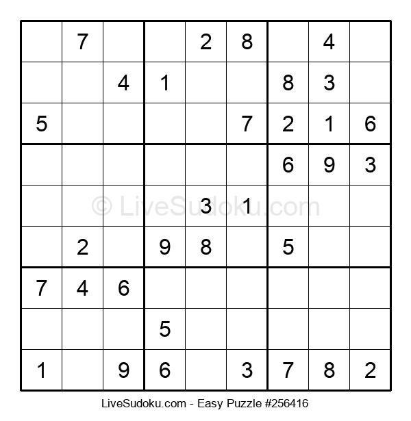 Beginners Puzzle #256416