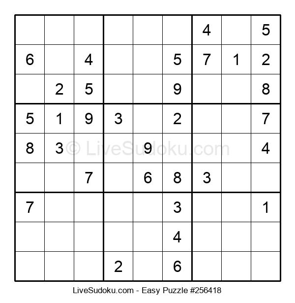 Beginners Puzzle #256418