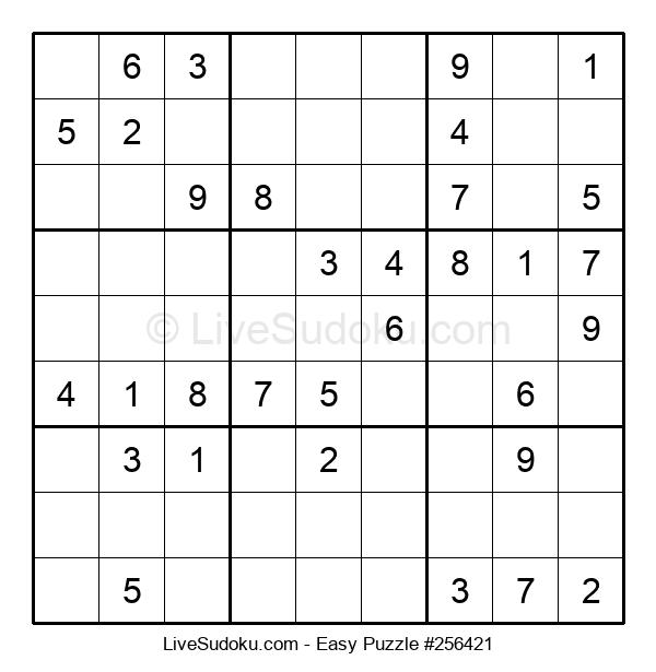 Beginners Puzzle #256421