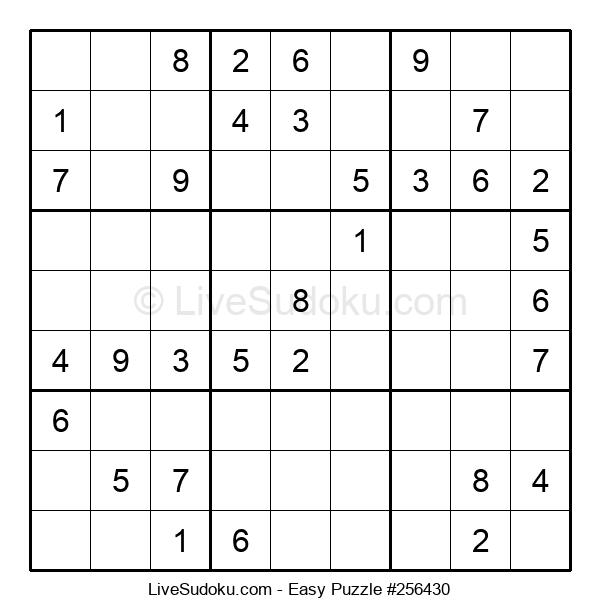 Beginners Puzzle #256430
