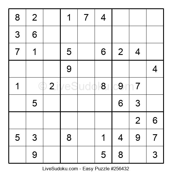 Beginners Puzzle #256432