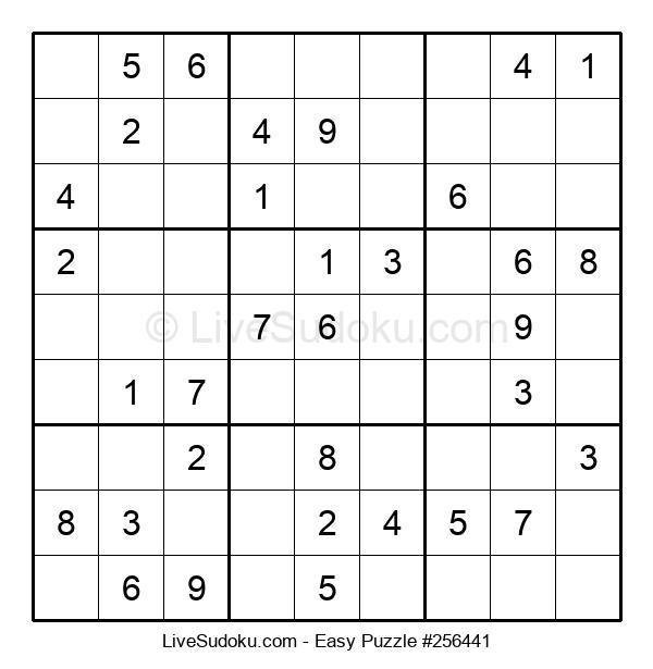 Beginners Puzzle #256441