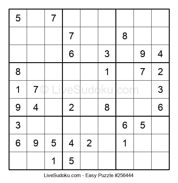 Beginners Puzzle #256444