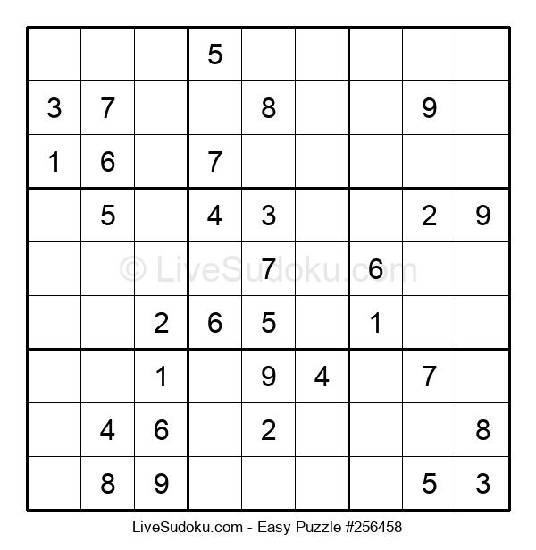 Beginners Puzzle #256458