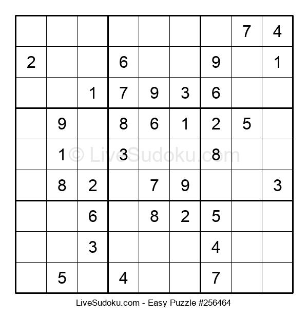 Beginners Puzzle #256464