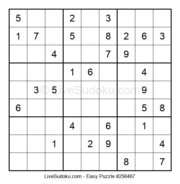 Beginners Puzzle #256467