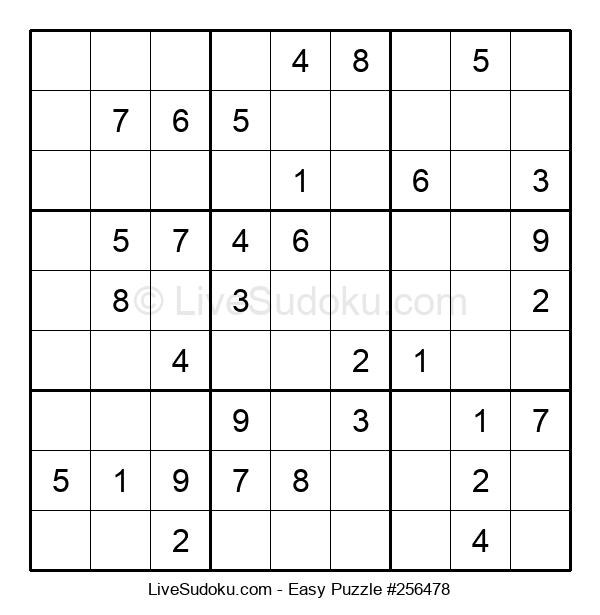 Beginners Puzzle #256478